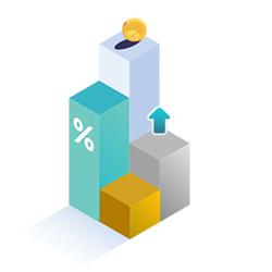Icono incrementa tus ventas