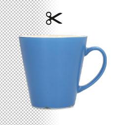 Fotografía 2D con recorte automatico de fondo